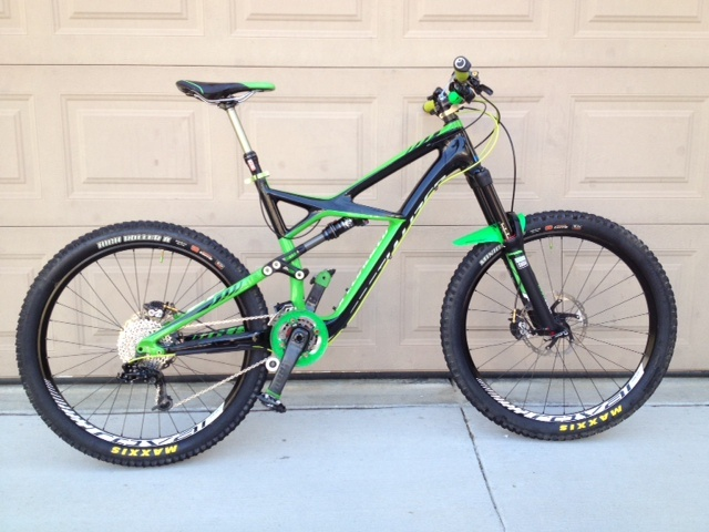2013 Specialized Enduro Carbon-Enve Pike KS