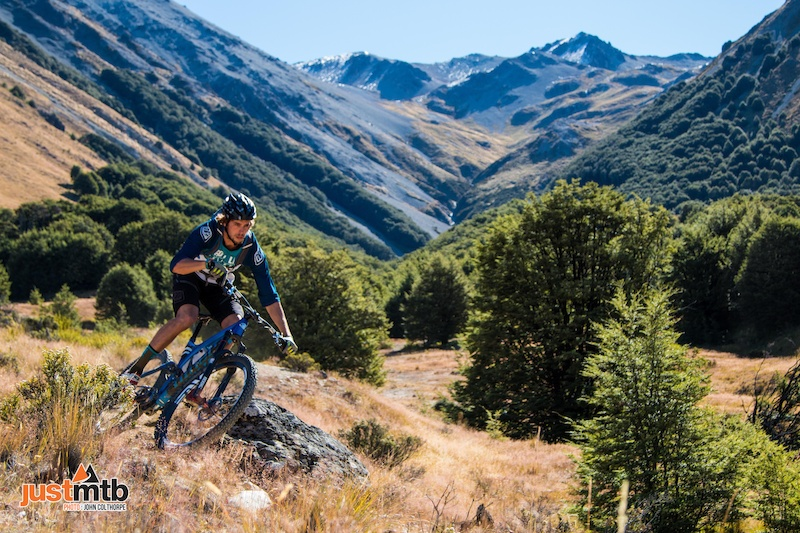 JustMTB Tour - Discover New Zealand Images Copyright - John Colthorpe