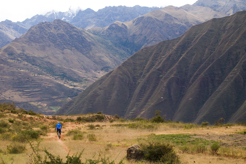 The mountain ranges in Peru really are larger than life