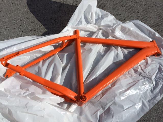 Hardrock 06 with Orange KTM makeover