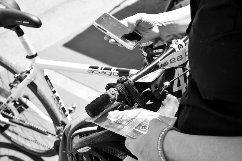 A Sea Otter rider registering their bike using the 529 Garage app. We designed it to be simple in its interface yet powerful in its implications.