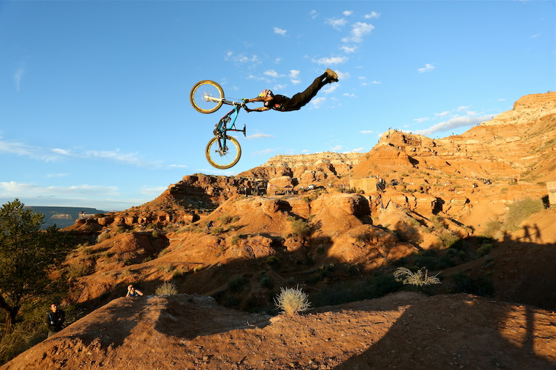Classic Andreu with a perfect superman at Rampage
