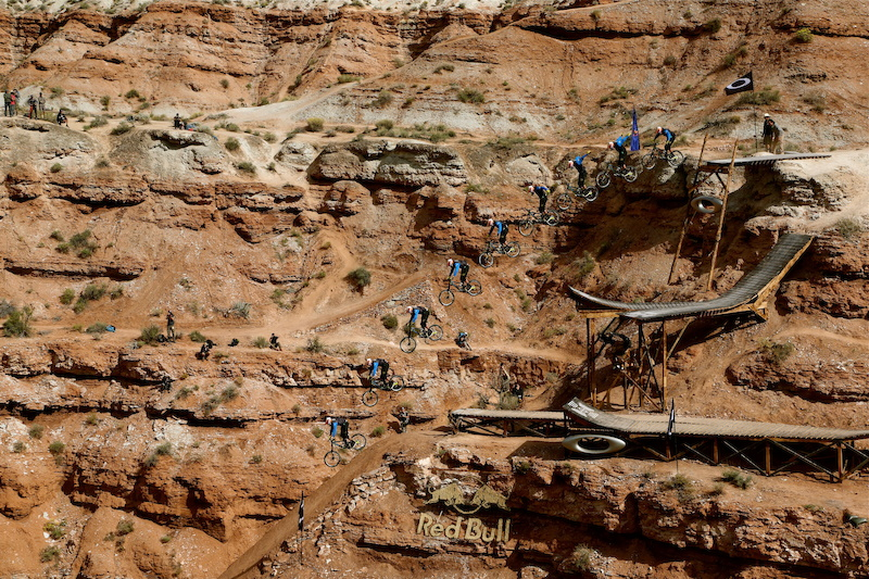 Kyle Strait wins Rampage 2013 with this huge no-hander from Oakley Sender