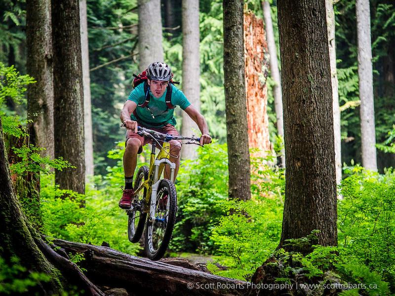 Matt Juhasz - owner of North Shore Bike Shop - Wade's Excellent Adventure 2014