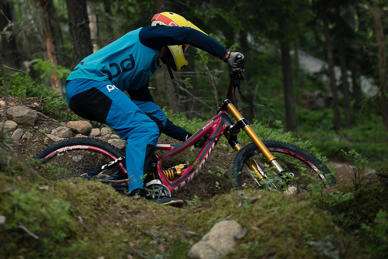 196775a1fd5 Spy Shot: Öhlins Downhill Fork by thomasfuelex - Pinkbike