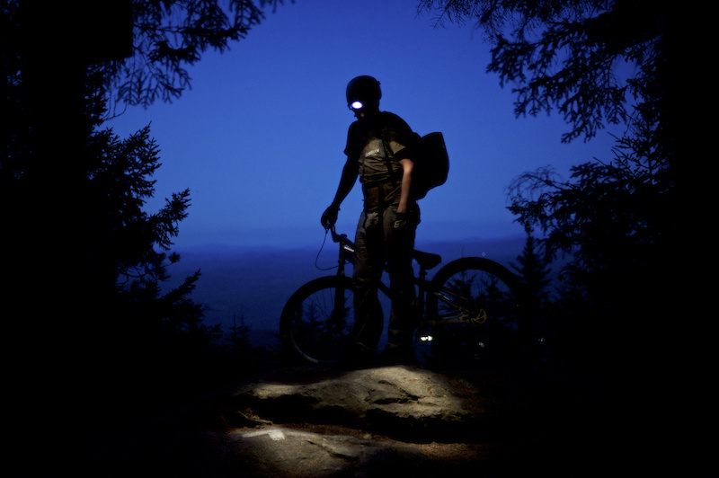 Tim Hasselmann riding in Ascutney Vermont for the Green Mountain Showdown competition submission. Ascutney VT 7 24 11