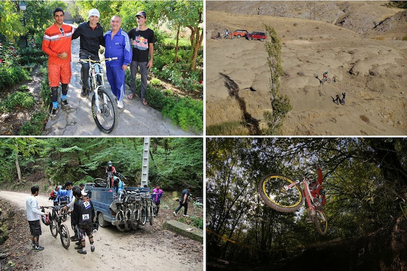 experience your own MTB adventures in Iran otbtours.de