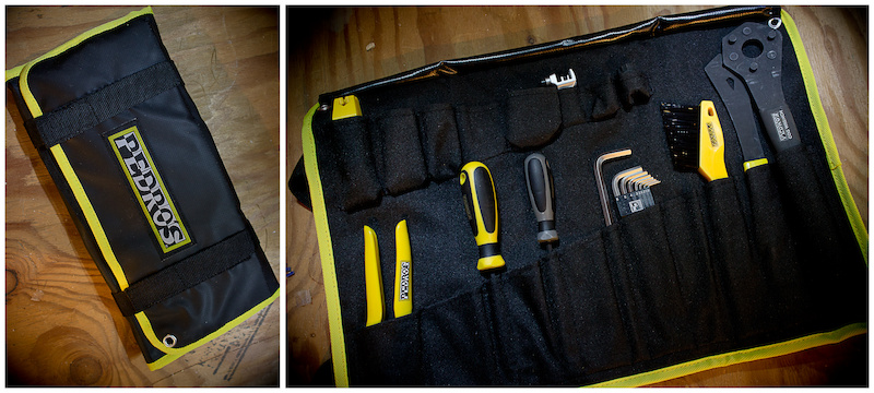 The Burrito wrap keeps your tools organized and protected in a durable waterproof and portable form-factor. The Burrito wrap accepts tools up to 13.75 350mm in length.