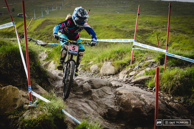 After two seasons plagued with serious injuries it was great to see Tracey Hannah back on the podium today in 3rd.
