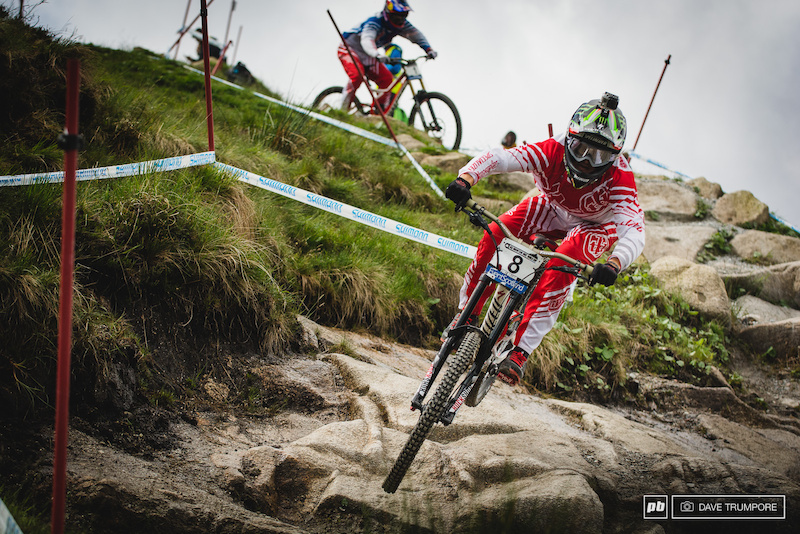 Who would have thought it would be Troy Brosnan leading the charge with Gwinn in tow. With a pair of wins and multiple podium finishes from both riders already this season and it s hard to tell who the top dog in the Specialized camp is this season.