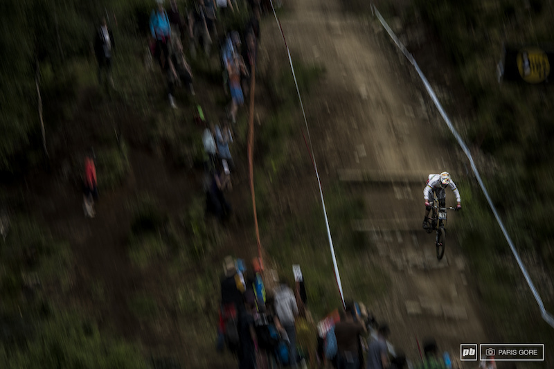 Greg Minnaar completing his 100th World Cup race and will seemingly be adding on to that number for long into the future. Congrats Greg