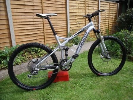 51ad597cc08 2010 Specialized FSR XC Expert full suspension mountain bike For Sale