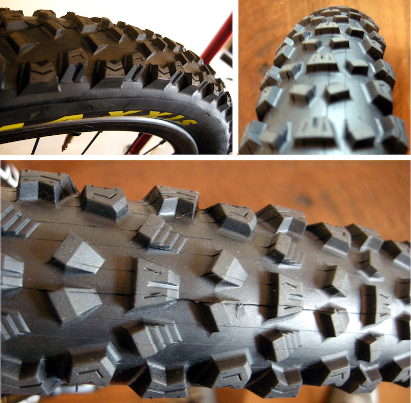 Prototype Maxxis DH tire 2015
