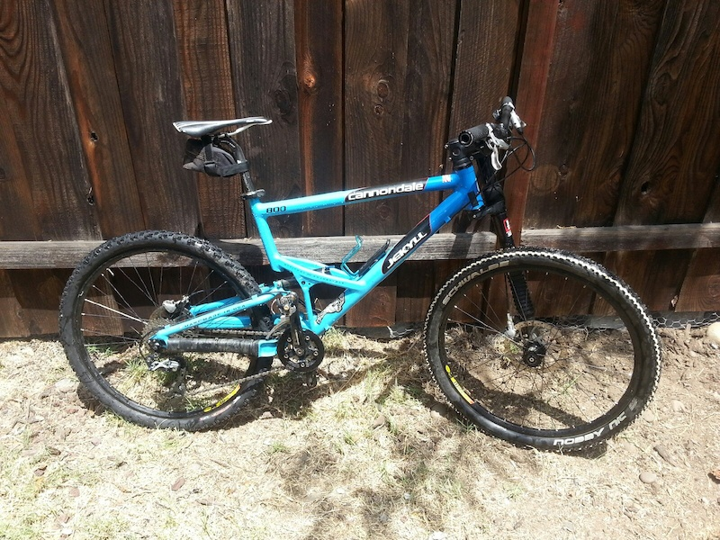 2002 Cannondale Jekyll W Lefty L For Sale
