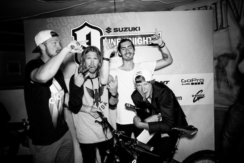 Team Simon Duse aka The Swedes won the Suzuki Nine Knights Video Contest