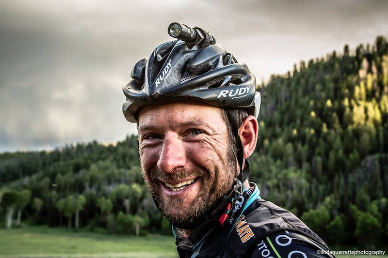 Tour Divide winner Jefe Banham. Linda Guerette photo.