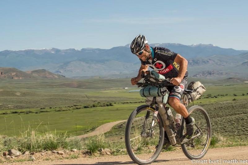 Tour Divide winner Jefe Branham. Matt Burt photo.
