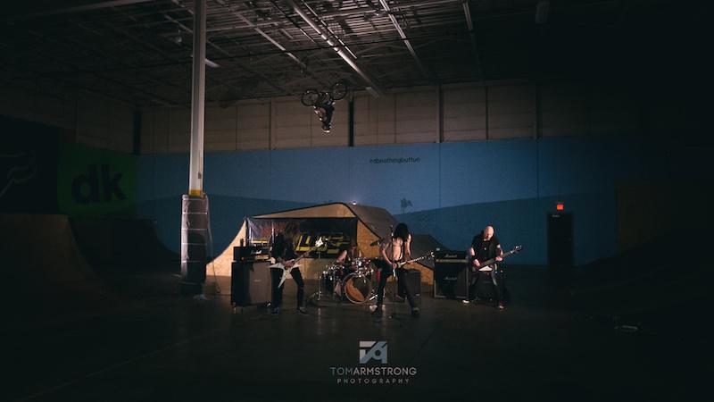 Midnight Malice video shoot