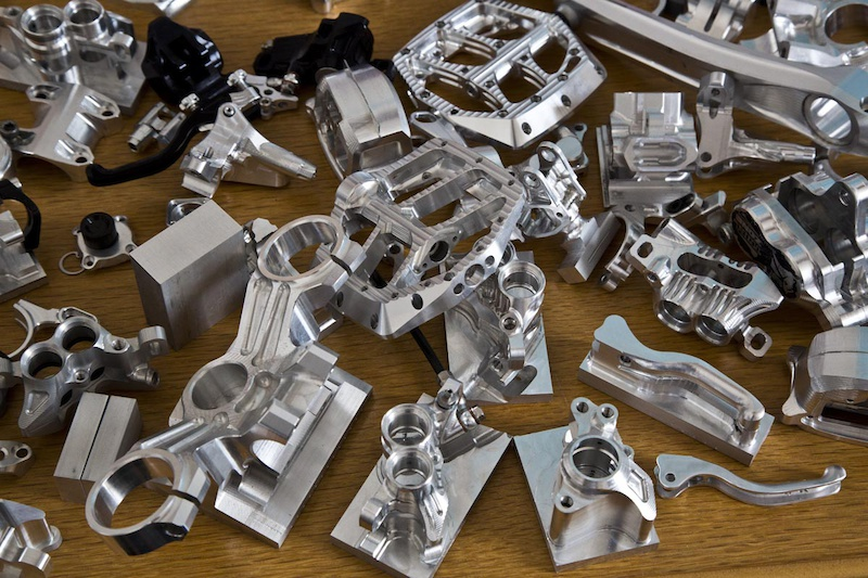 Prototype pedals brake levers and more