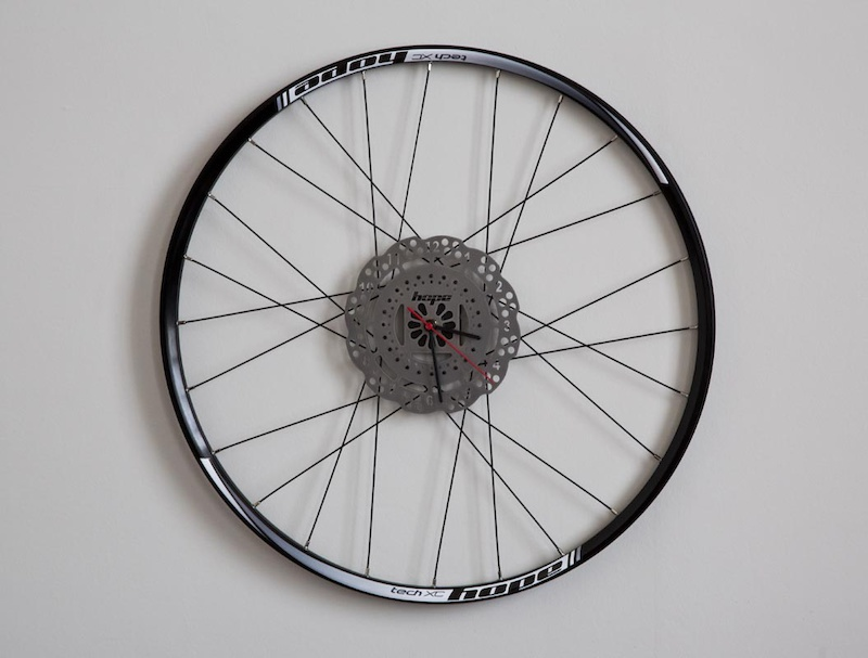 What better way to used a scratched rim