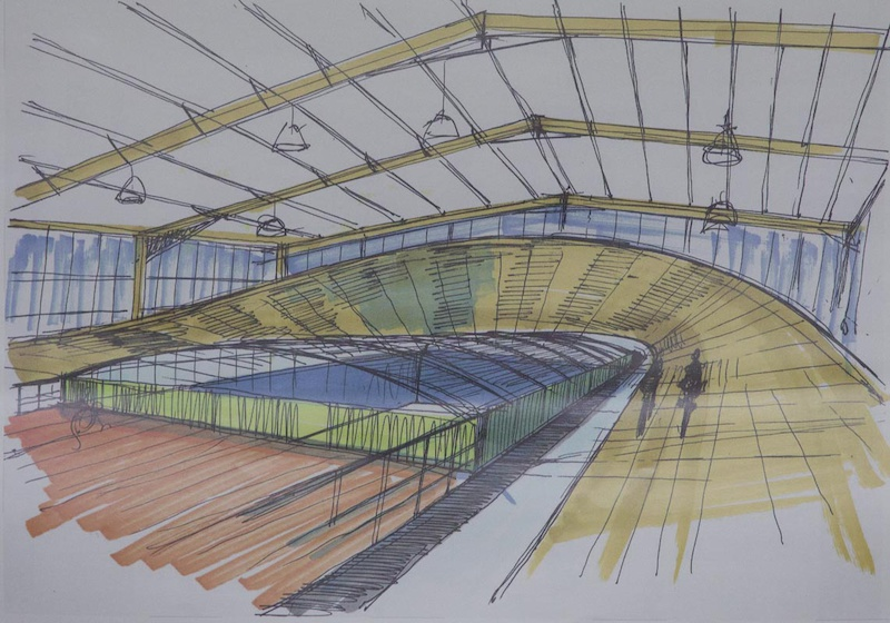 Hope have big plans - one of which is to build their own velodrome...