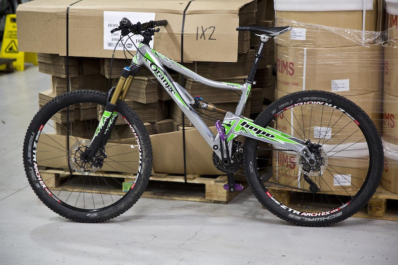 All staff get at least one bike of their choosing