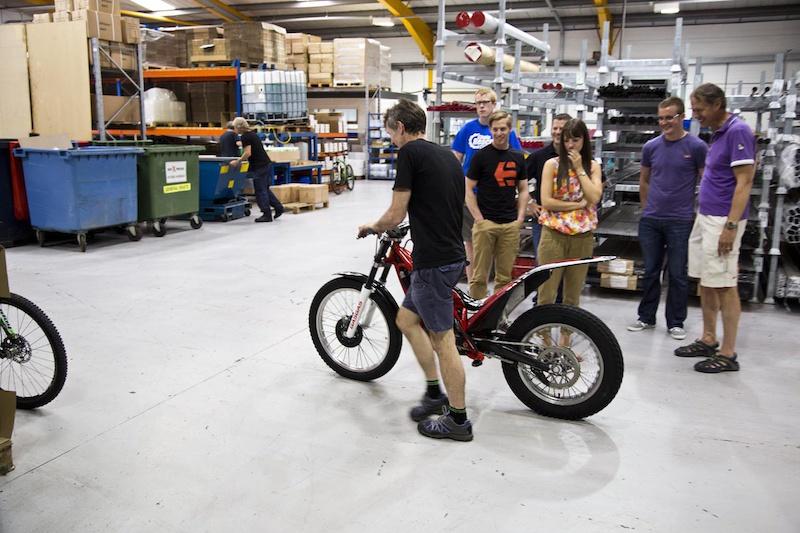 Simon s trials bike