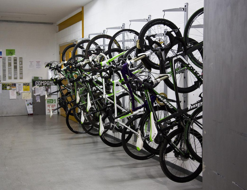 staff bikes