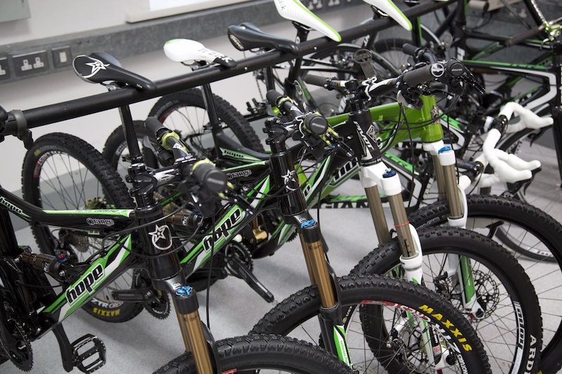 Remember all those staff bikes There s a dedicated workshop to fix and fettle them too...jealous much
