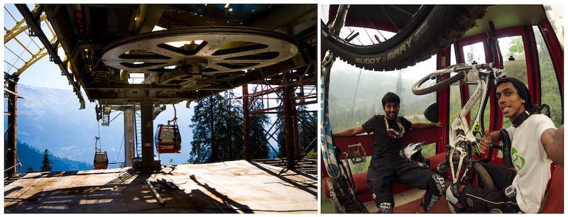 1st Himachal Downhill Mountain Bike Trophy 2014 - www.himalayanmtb.com Photo Vineet Sharma and Vinay Menon