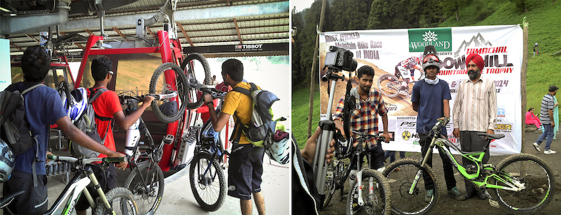 1st Himachal Downhill Mountain Bike Trophy 2014 - www.himalayanmtb.com Photo Vineet Sharma