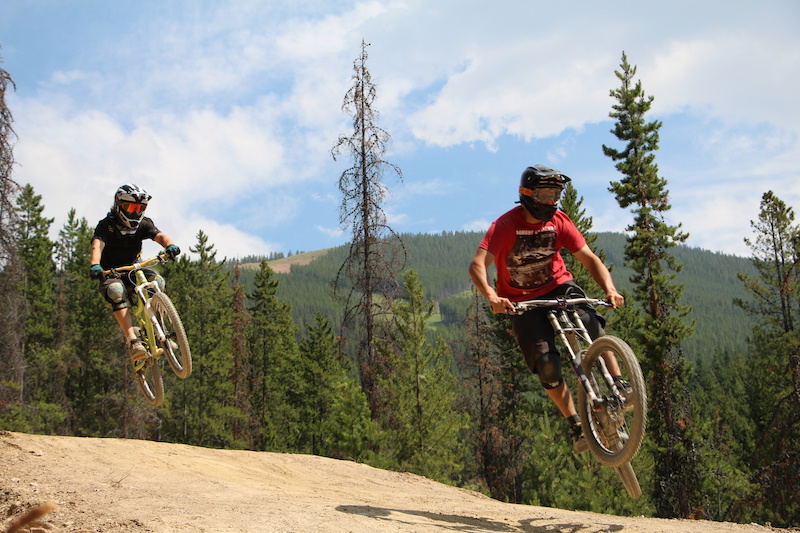 Panorama Bike Park 2014 - New Jumps and Escape from Alcatraz