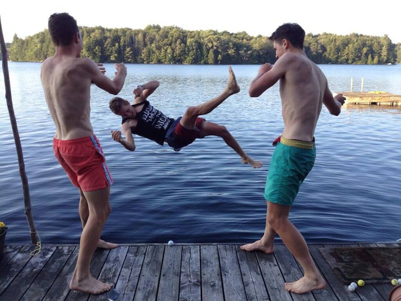 Cottage country fun