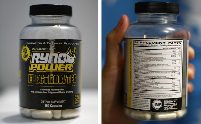 Rhyno Power Electrolytes review test