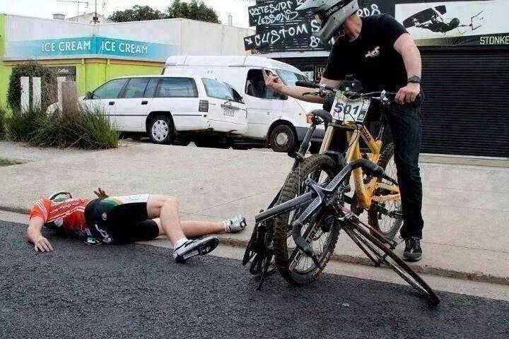 get a proper bike lol