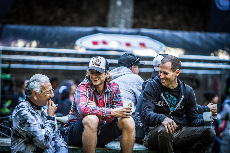 Racing. Beer. Camaraderie. The spirit of Enduro. Photo by Called to Creation.