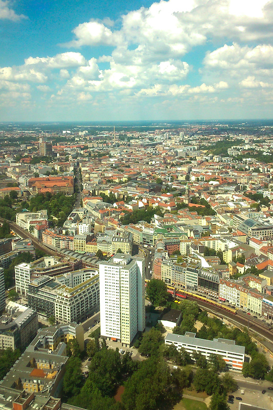 North Berlin from TV Tower