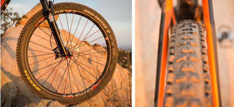 Maxxis High Roller II tire 2014