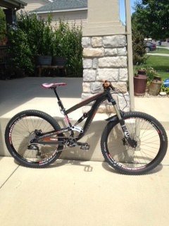 2015 Diamondback mission 650b/27.5