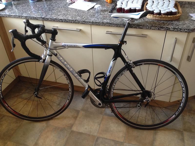 2005 Trek 5000 OCLV 120 Full Carbon Fibre Road Bike Ultegra