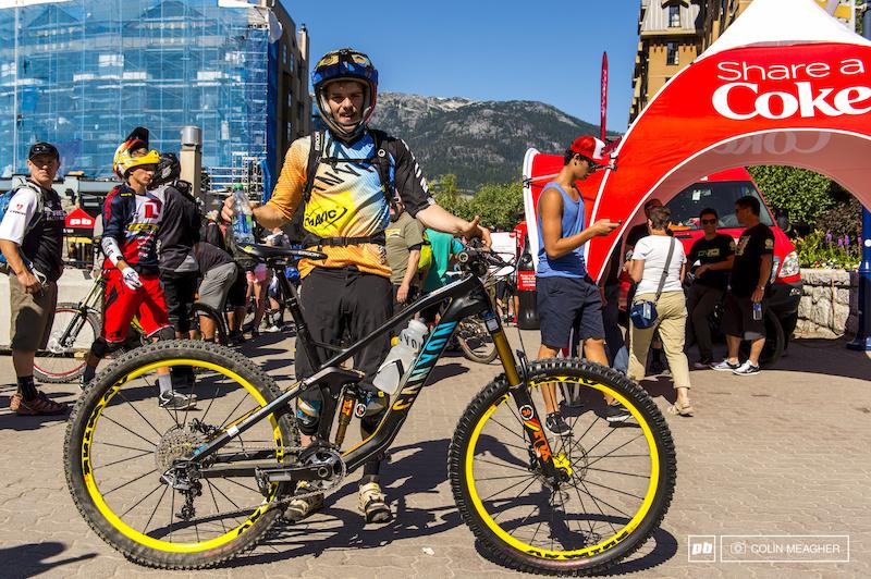 Crankworx 2014 - Bikes of the EWS