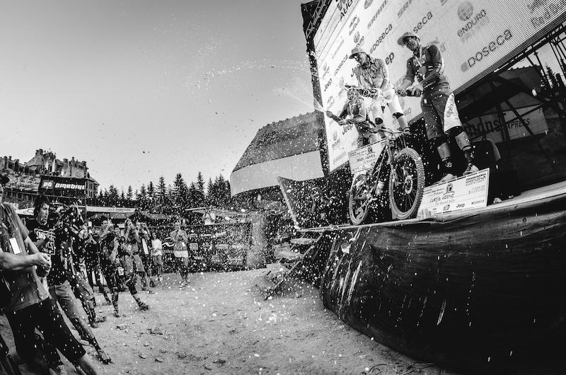 Jared Graves incredible comeback at Whistler EWS 2014