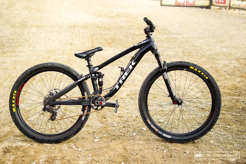 Champion's Bike: Brandon Semenuk's Trek Ticket S - Pinkbike