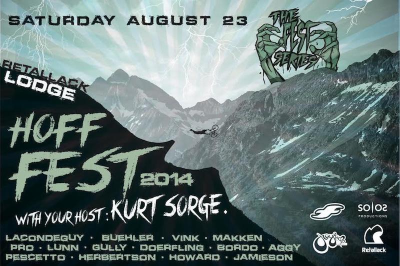Hoff Fest poster