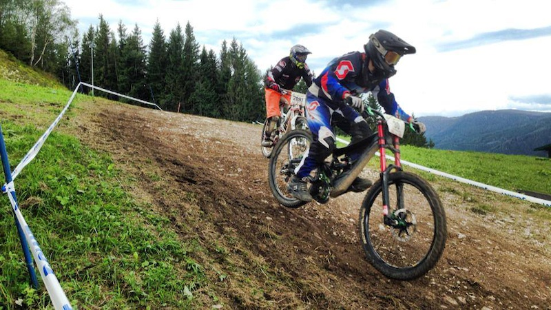 Me riding the 24hrs downhill race in Semmering riding solo with 136 rounds for 9th place total distance of 435km with 47 600hms