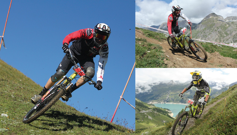 Round 3 of the idp Enduro Series in Val d Isere Tignes