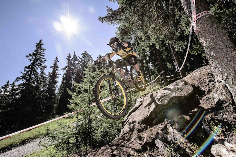 BU HLER Marco races the European Enduro Series Round 4 in Nauders Austria on August 24 2014. Free image for editorial usage only Photo by Felix Sch ller.