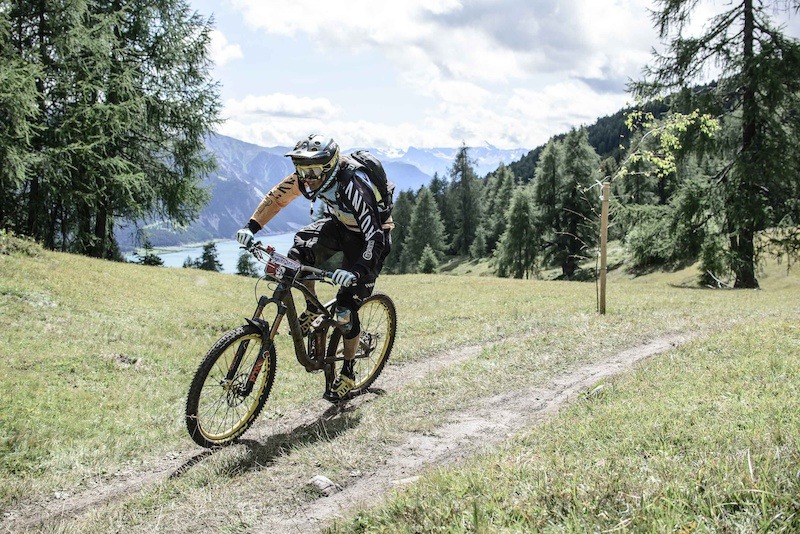 MAY Ludovic races the European Enduro Series Round 4 in Nauders Austria on August 24 2014. Free image for editorial usage only Photo by Felix Sch ller.