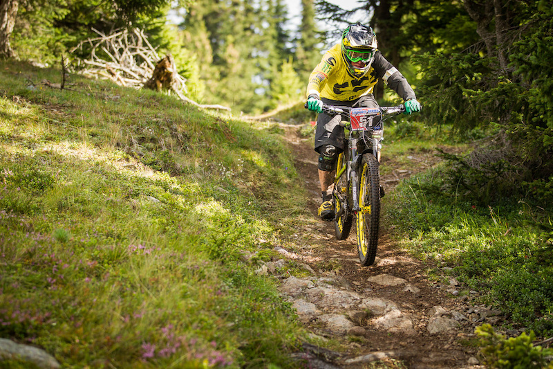 CLEMENTZ Jerome races the European Enduro Series Round 4 in Nauders Austria on August 24 2014. Free image for editorial usage only Photo byHanno Polomsky