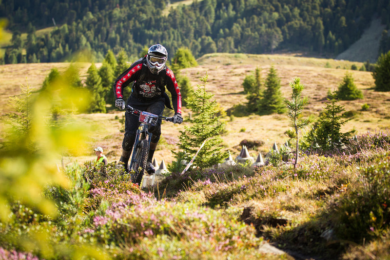 JAHNEL R diger races the European Enduro Series Round 4 in Nauders Austria on August 24 2014. Free image for editorial usage only Photo by Hanno Polomsky